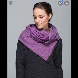 Lululemon Vinyasa Scarf OS - purple
